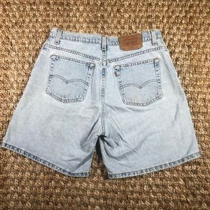 Levis Vintage 551 Relaxed Fit High Rise Jean Short